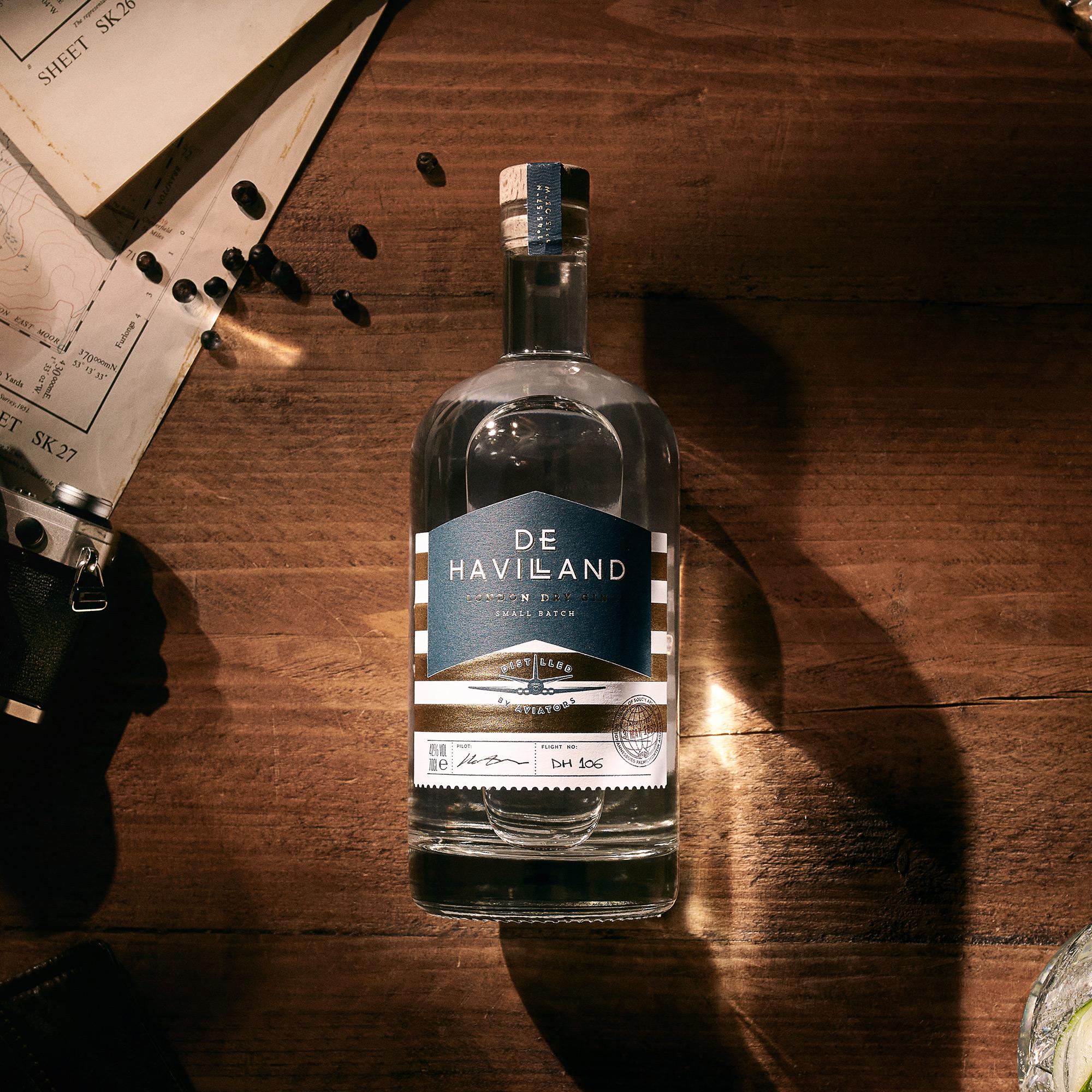 De Havilland Gin Bottle Mobile