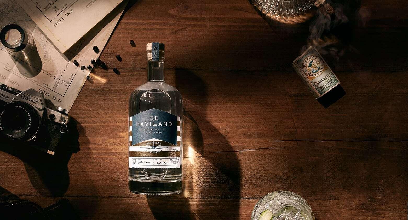 De Havilland Gin - London Dry Gin - Distilled by Aviators